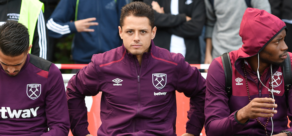 Javier Hernandez West Ham United Bayer Leverkusen Manchester United Mexico