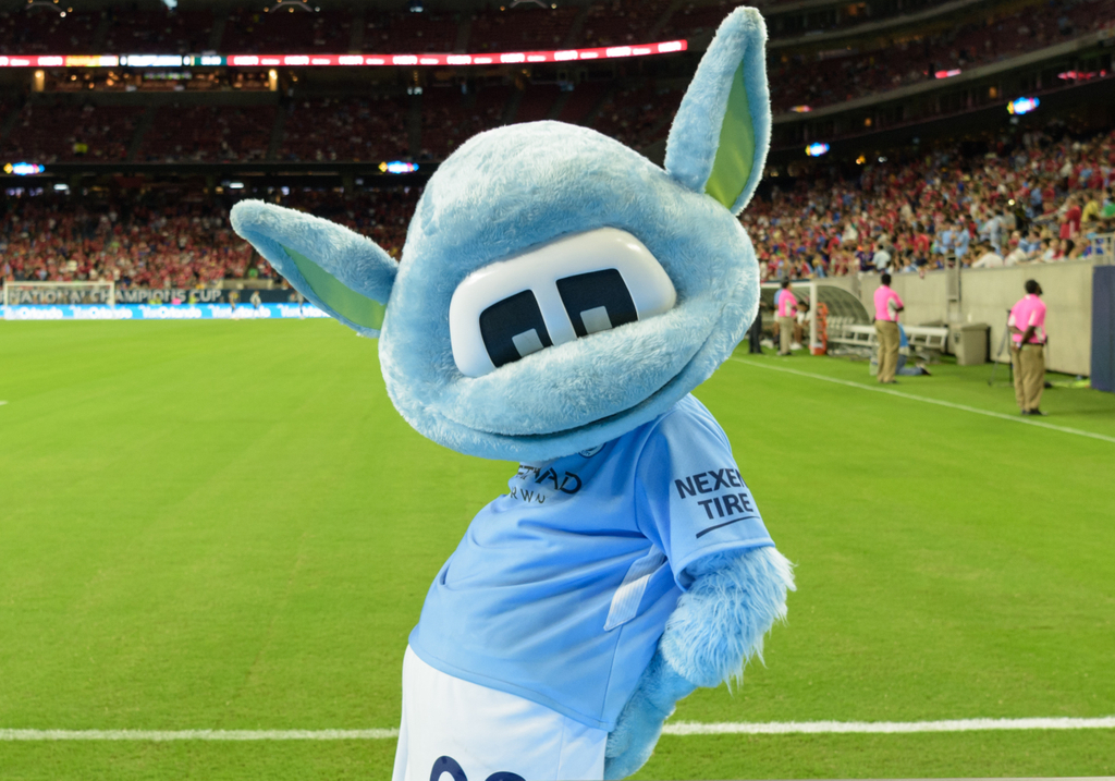 Manchester City Moonbeam Mascot