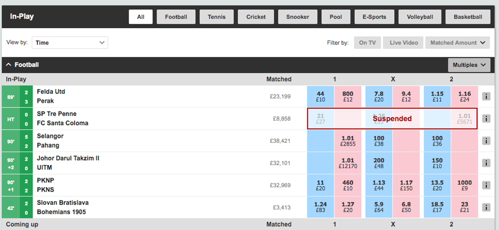 In play betting meaning top ten betting sites uk