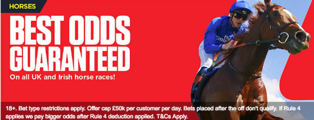 Ladbrokes Best Odds Guaranteed