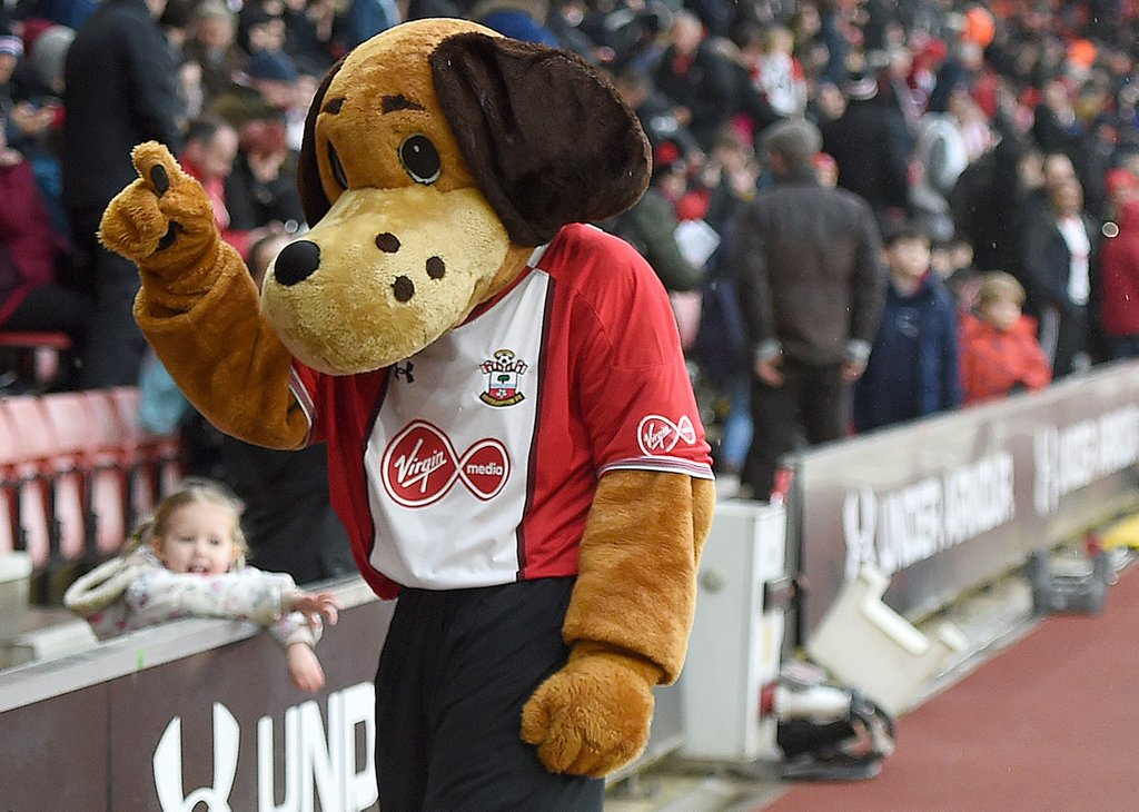 Southampton Sammy Saint Mascot