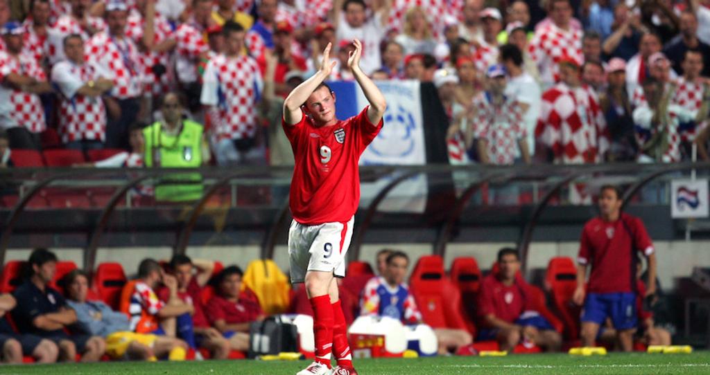 Wayne Rooney Euro 2004