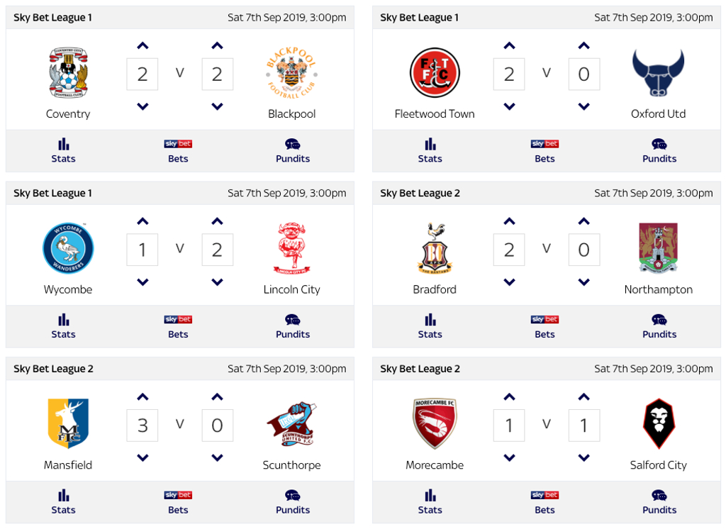 Super 6 Sky Tips, Hints & Predictions | Footy Accumulators