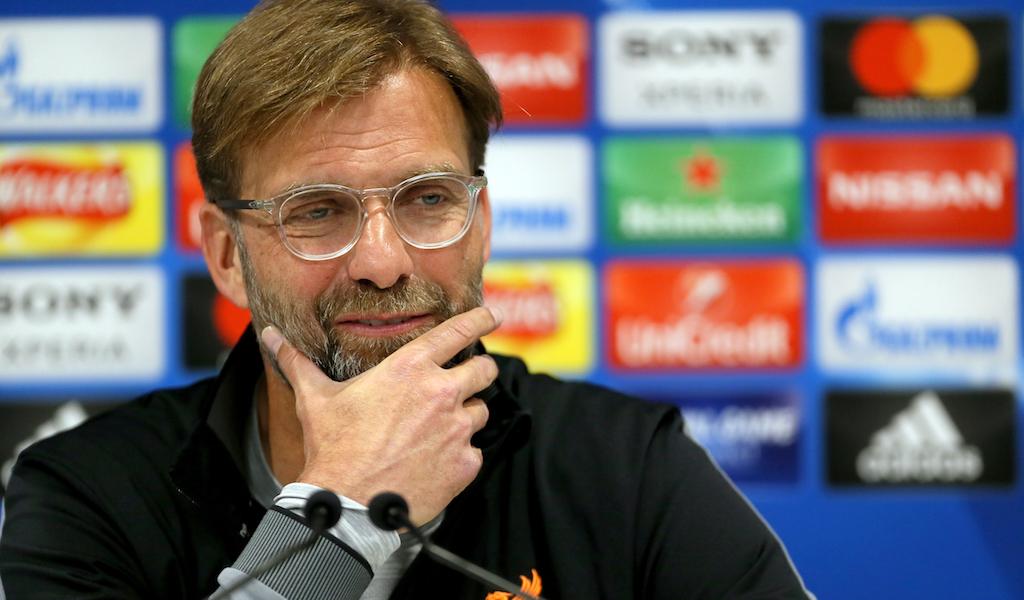 Jurgen Klopp Liverpool Premier League Champions League