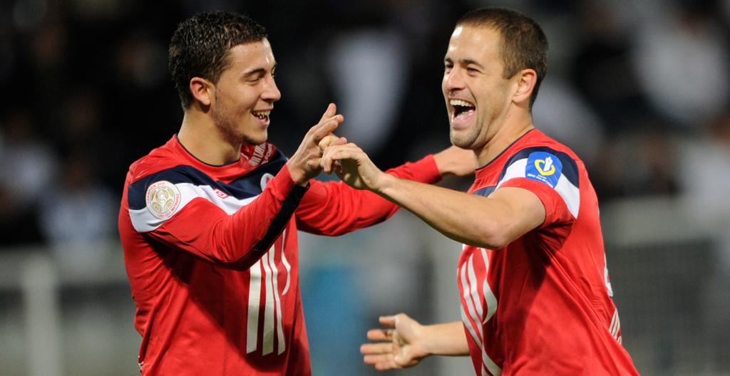 Joe Cole Eden Hazard Lille England Belgium Chelsea