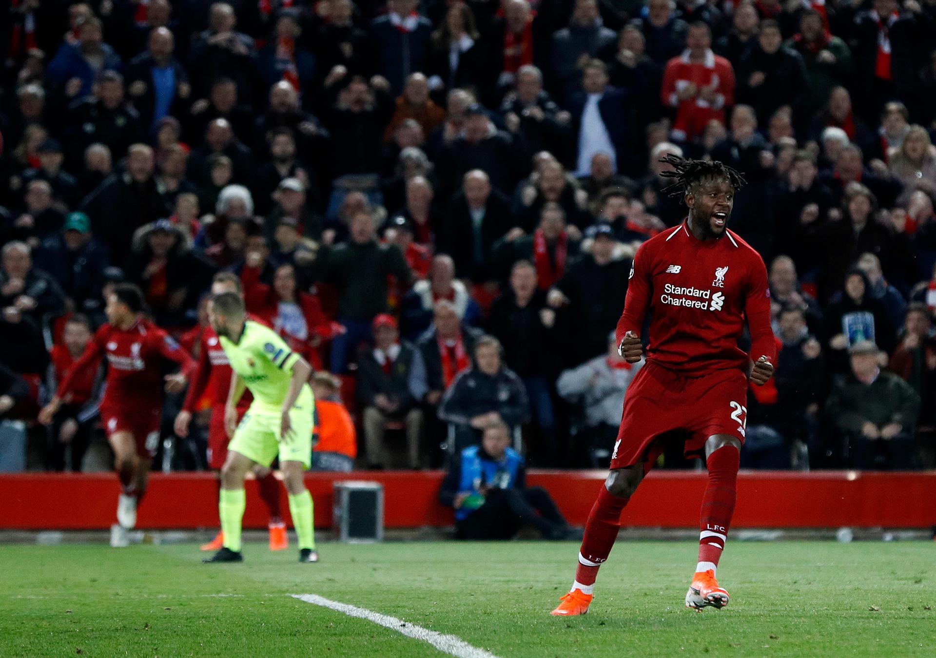 Mo Salah? No problem as Liverpool brush aside Barca at Anfield