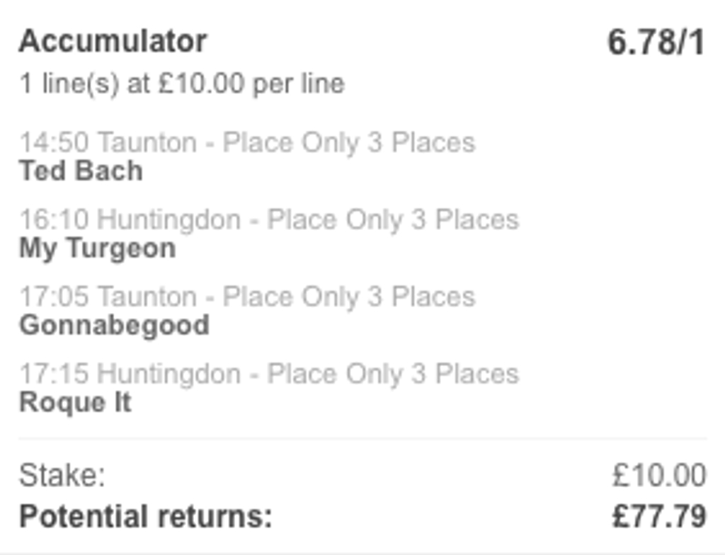 TUESDAY PLACE ACCA