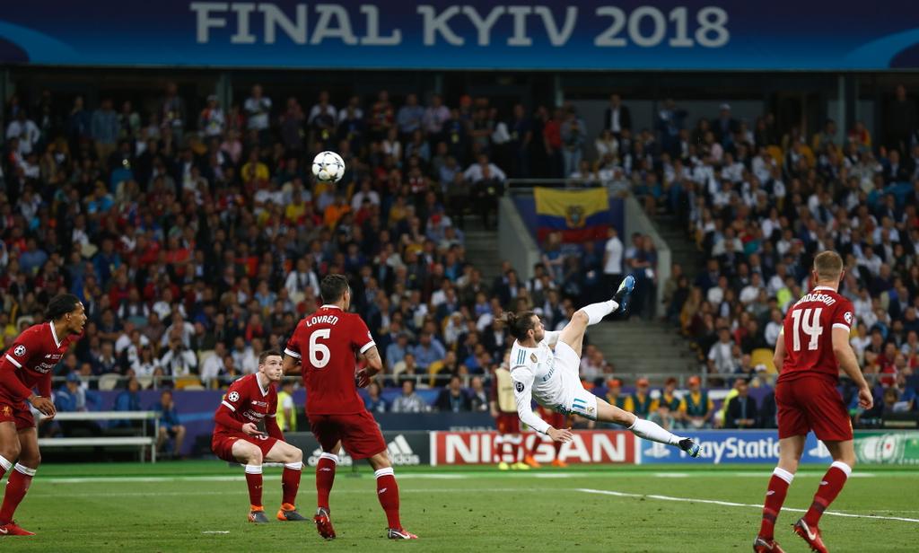 Gareth Bale Champions League Liverpool