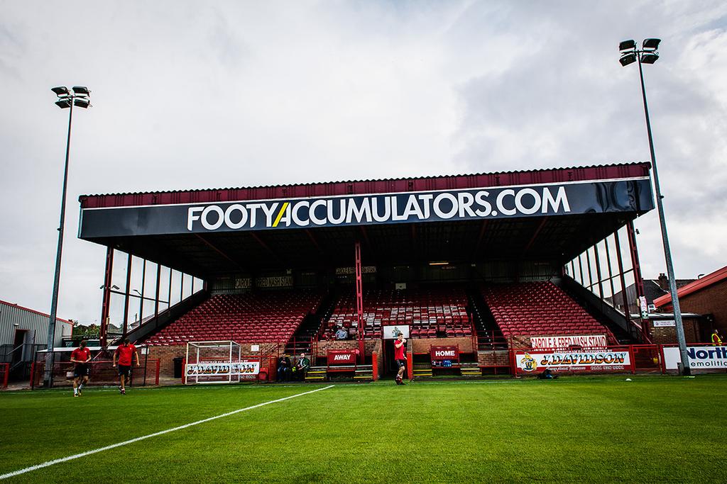 Altrincham FC Moss Lane