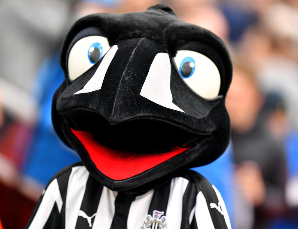 Newcastle Monty Magpie Mascot
