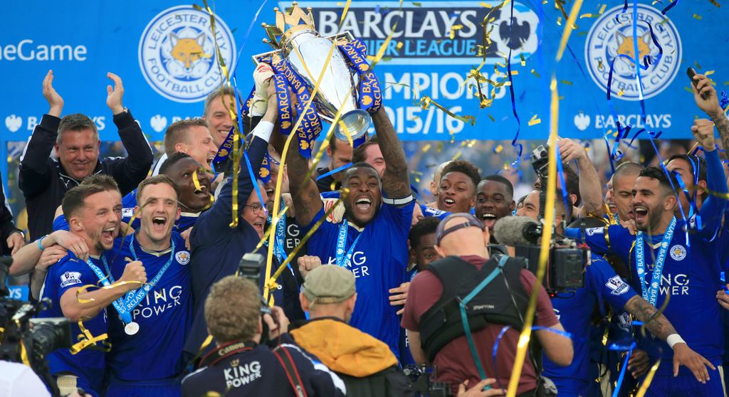 Leicester City Premier League Winners
