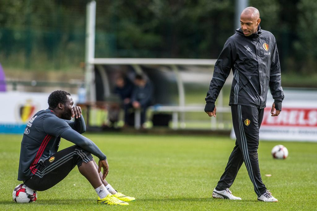 Thierry Henry Romelu Lukaku Belgium Football