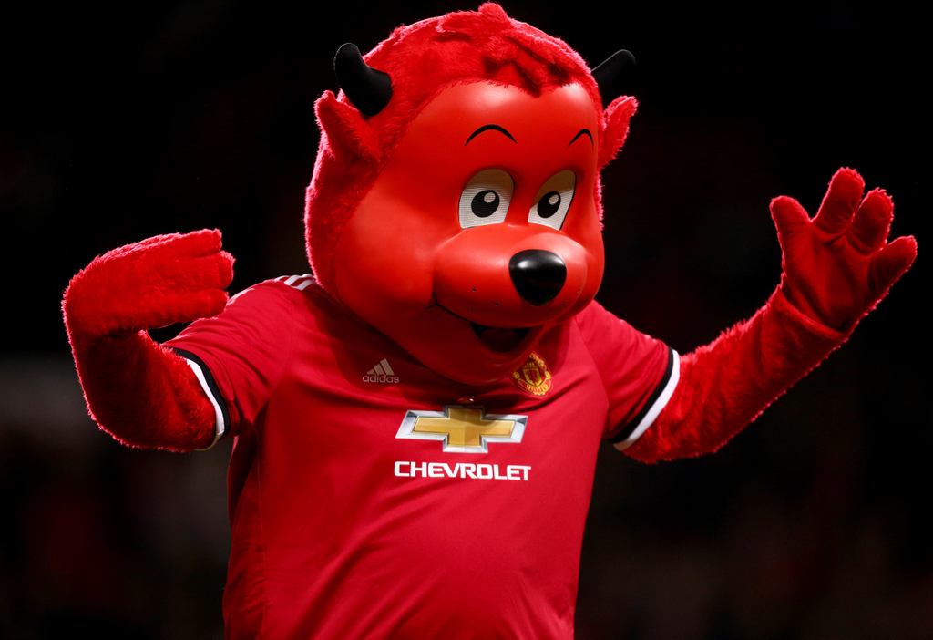 Manchester United Fred the Red Mascot