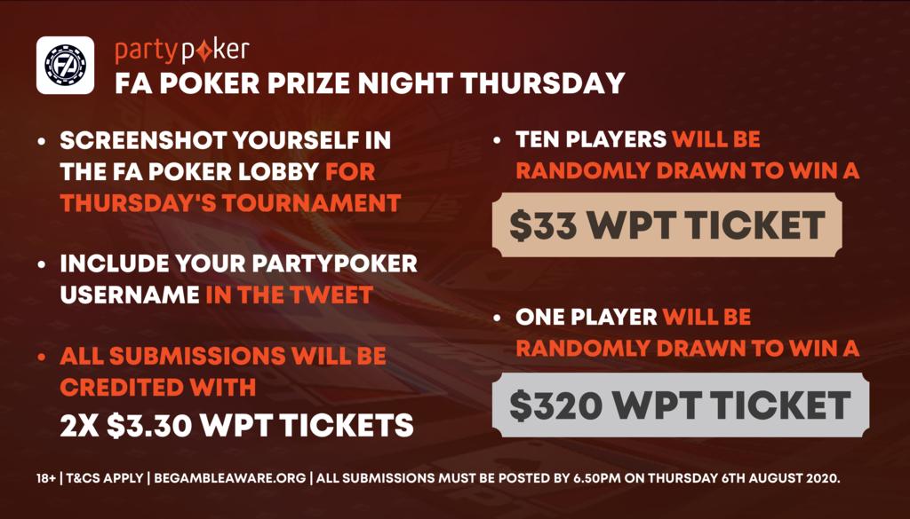 poker prize night recap