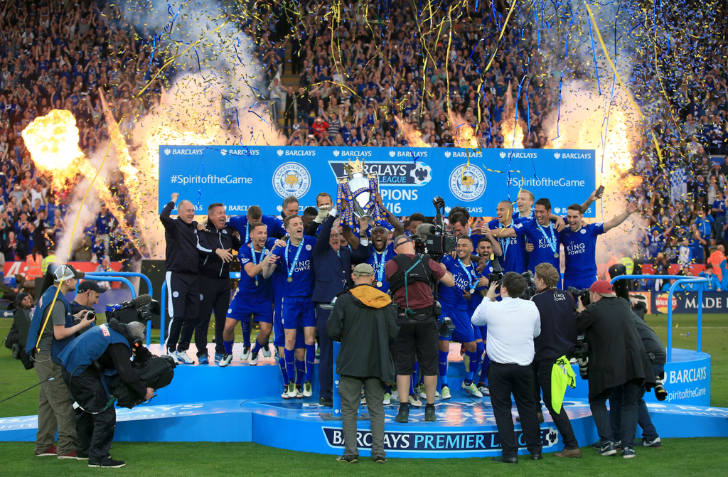 Leicester Title Celebrations