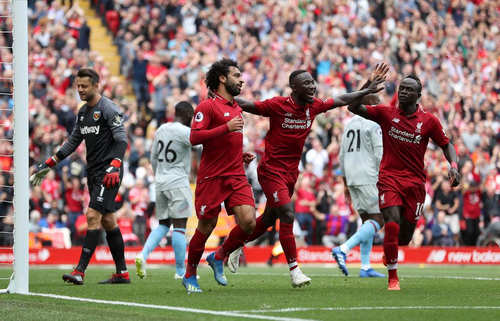 Liverpool Salah Keita Mane