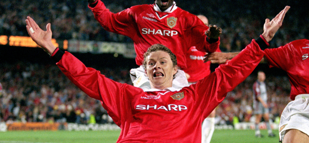 Ole Gunnar Solskjaer Manchester United Bayern Munich 1999 Champions League Final