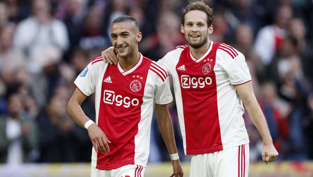 Hakim Ziyech Daley Blind
