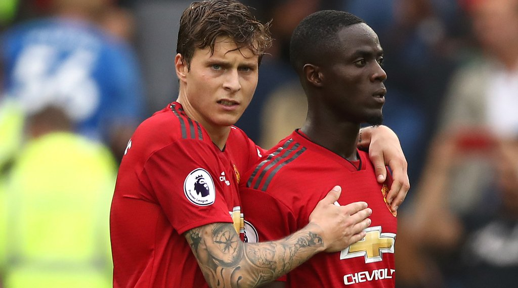 Lindelof Bailly Manchester United