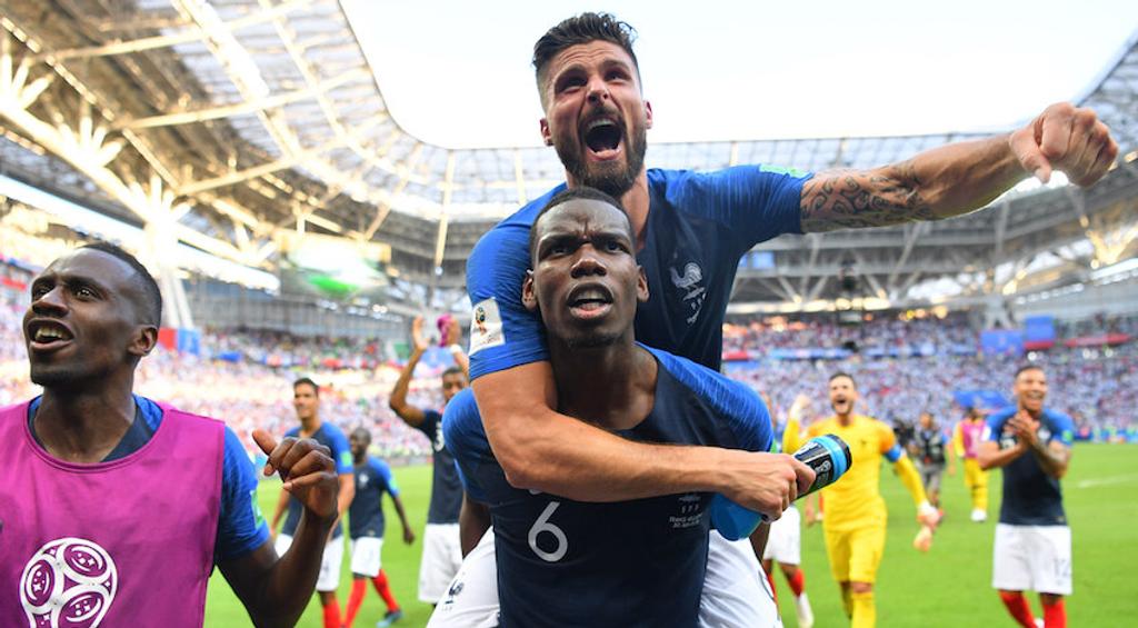 France Paul Pogba Olivier Giroud