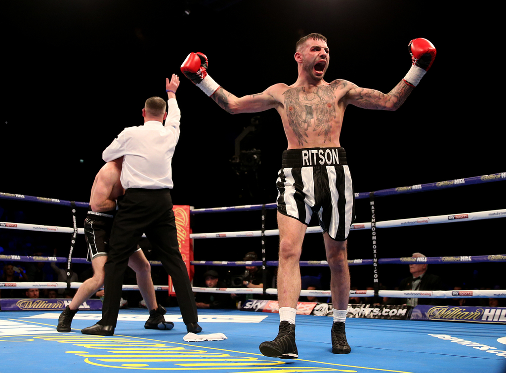 Lewis Ritson Boxing Newcastle United