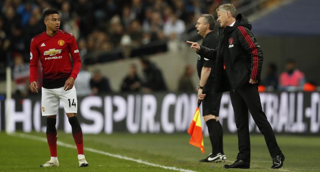 Manchester United Lingard Solskjaer