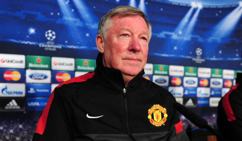 Sir Alex Ferguson Manchester United Premier League UEFA Champions League
