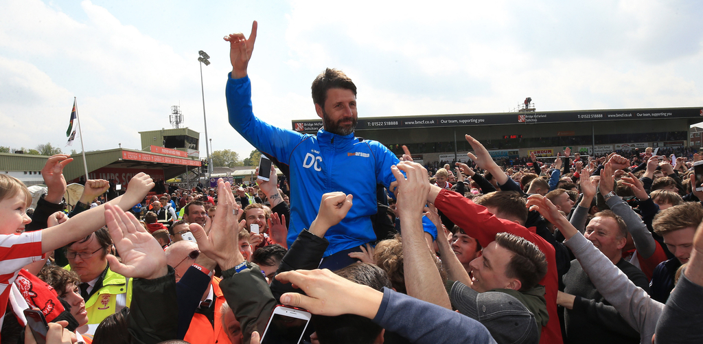 Danny Cowley Lincoln