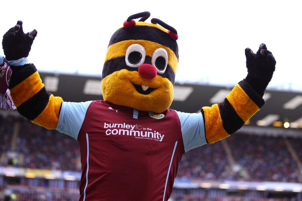 Burnley Bertie Bee Mascot