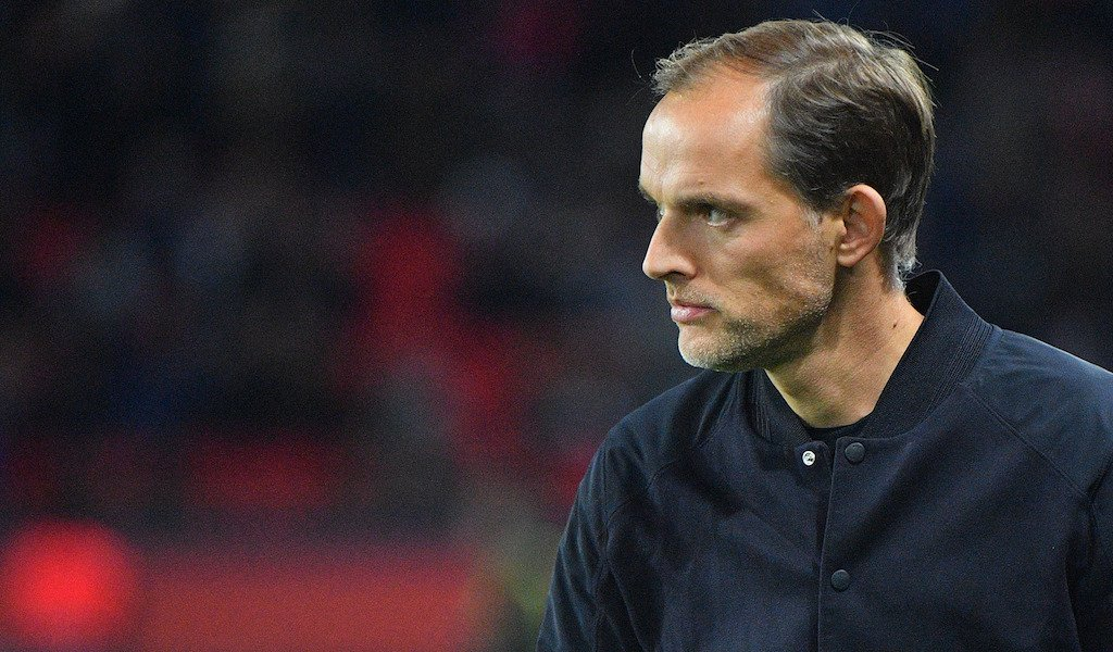 Thomas Tuchel PSG Manager Paris Saint Germain