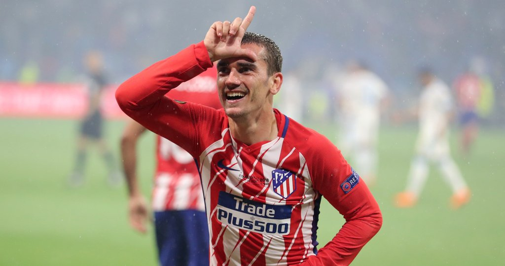 Antoine Griezmann France Atletico Madrid Europa League Final Marseille