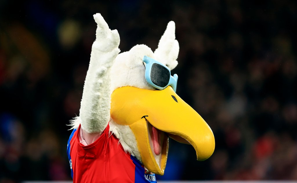 Crystal Palace Pete the Eagle Mascot