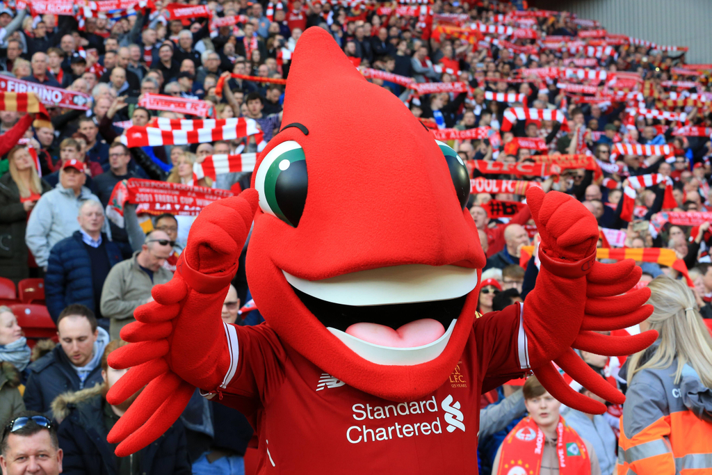Liverpool Mighty Red Mascot