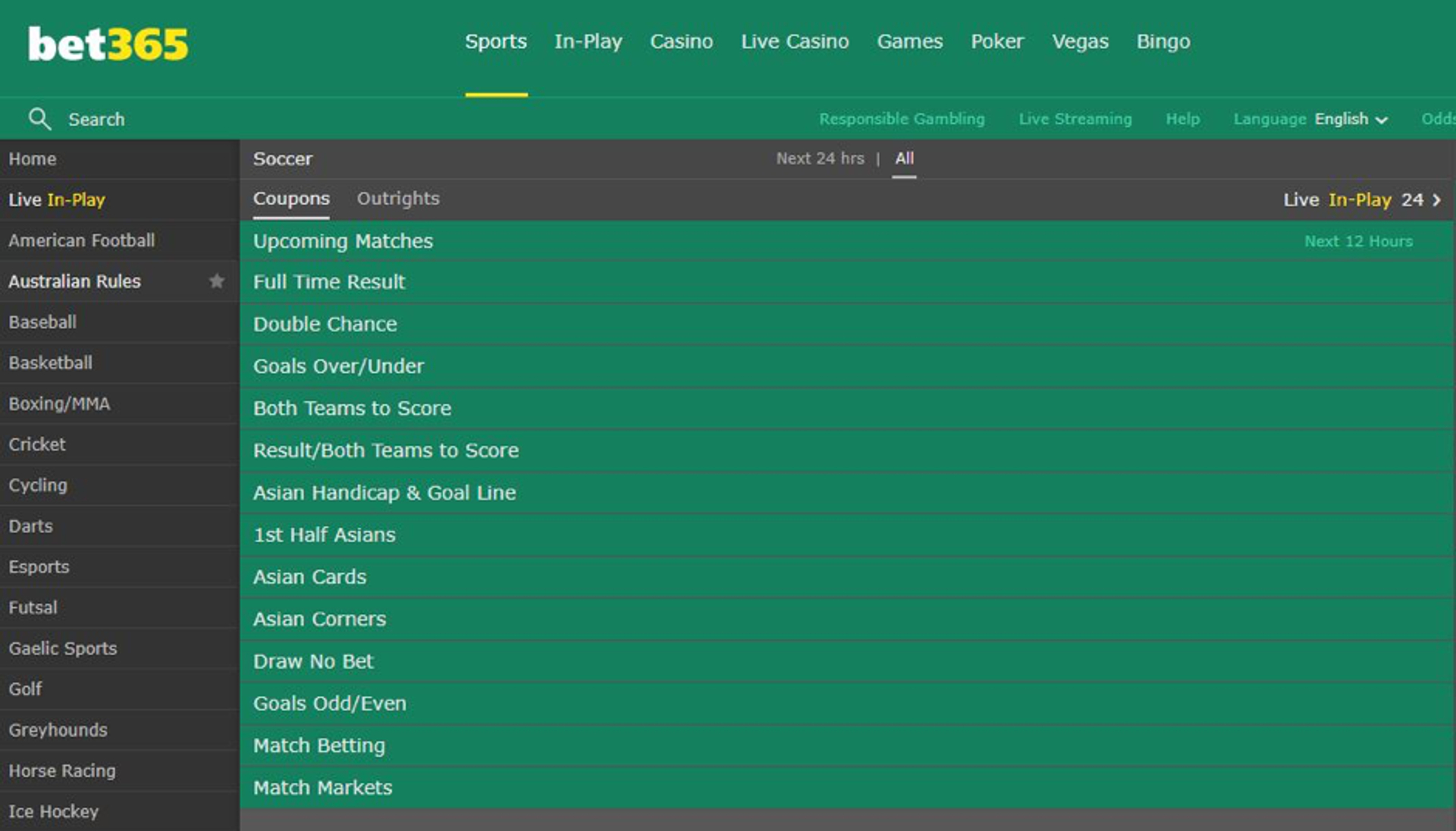 how to bet no clean sheet on bet365