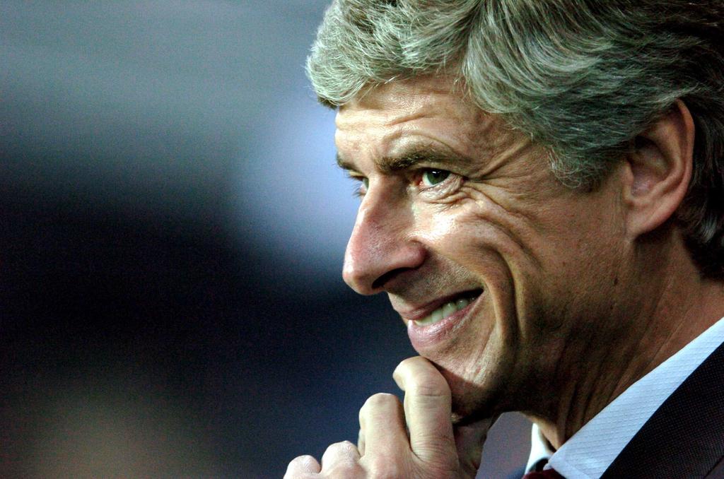 Arsene Wenger AC Milan Arsenal Bayern Munich