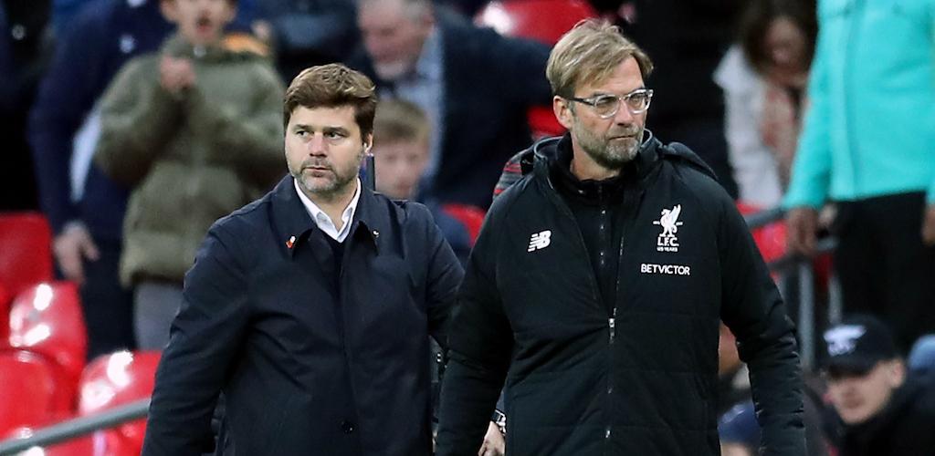 Mauricio Pochettino Jurgen Klopp Tottenham Hotspur Spurs Liverpool FA Cup Premier League