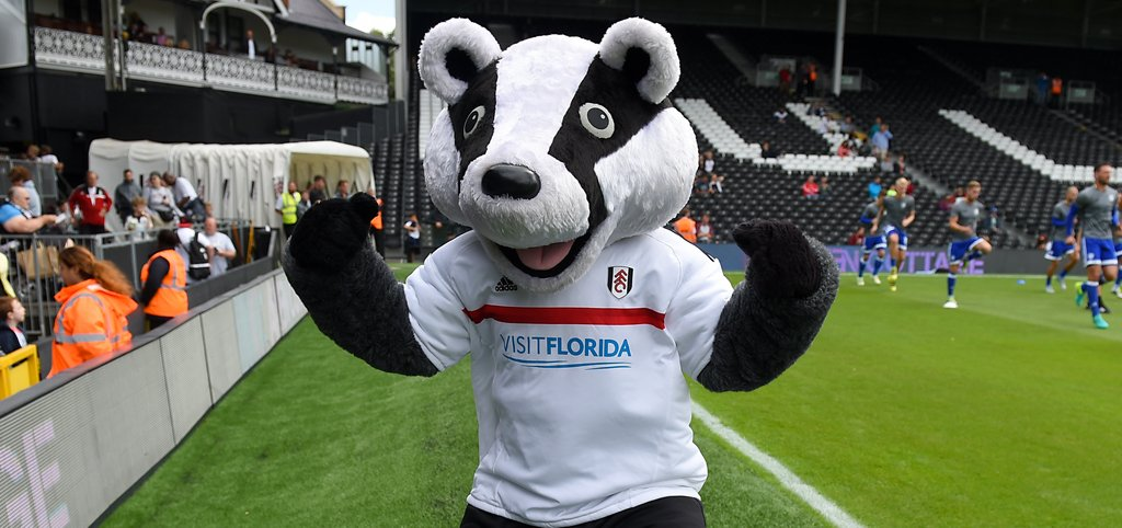Fulham Billy the Badger Mascot